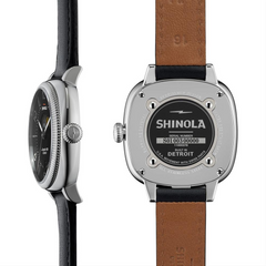 Shinola Gomelsky Moon Phase Black Dial 36mm Women's Watch S0110000278
