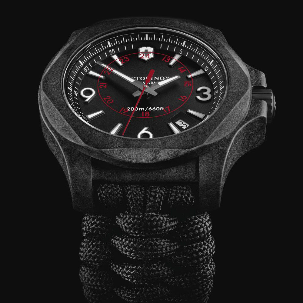 Victorinox Swiss Army I.N.O.X. 43MM Carbon Quartz Watch 241776