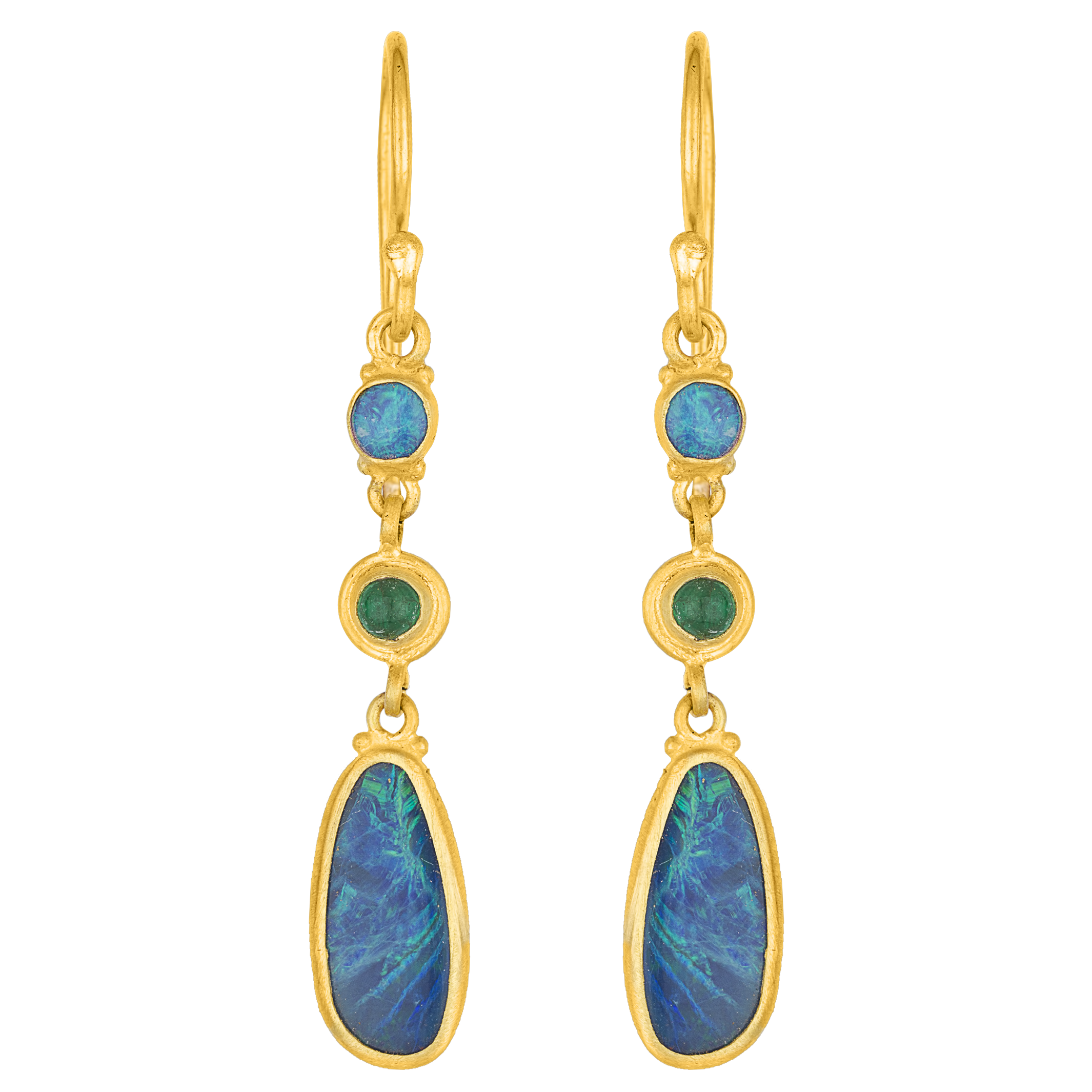 bargen harari von small earrings product hoop roxanne yossi jewelry s gold mart