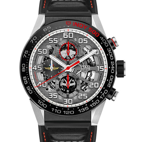 TAG Heuer Carrera Calibre 01 Automatic Chronograph 100M 43mm Indy 500 Limited Edition Watch