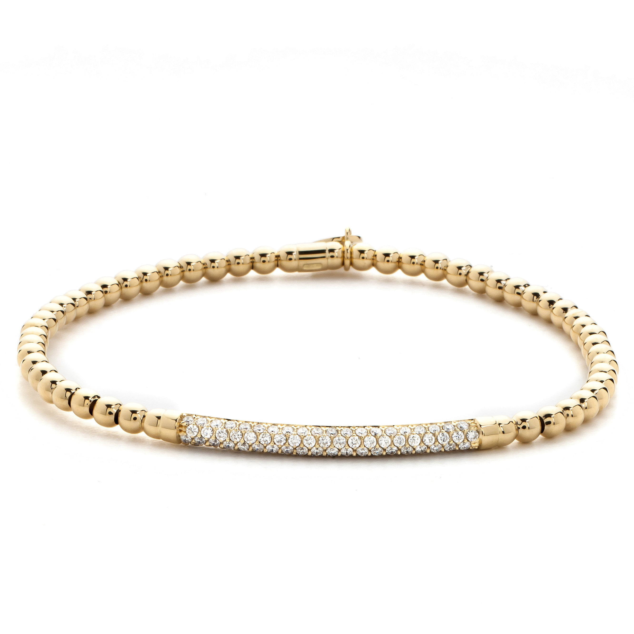 diamond bangle bracelets bangles stackable gold liali circles jewellery life s pin pinterest