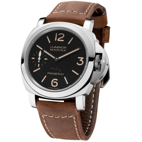 Certified Pre-owned Panerai Luminor Palm Beach Limited Ed. Marina Acciaio 44mm PAM00466 Watch Pig