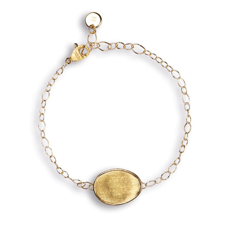 Marco Bicego 18K Yellow Gold Lunaria Chain Bracelet with One Lunaria Element BB1763 Y