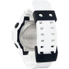 Casio G-Shock White Black Analog-Digital Mens Watch GA700-7A