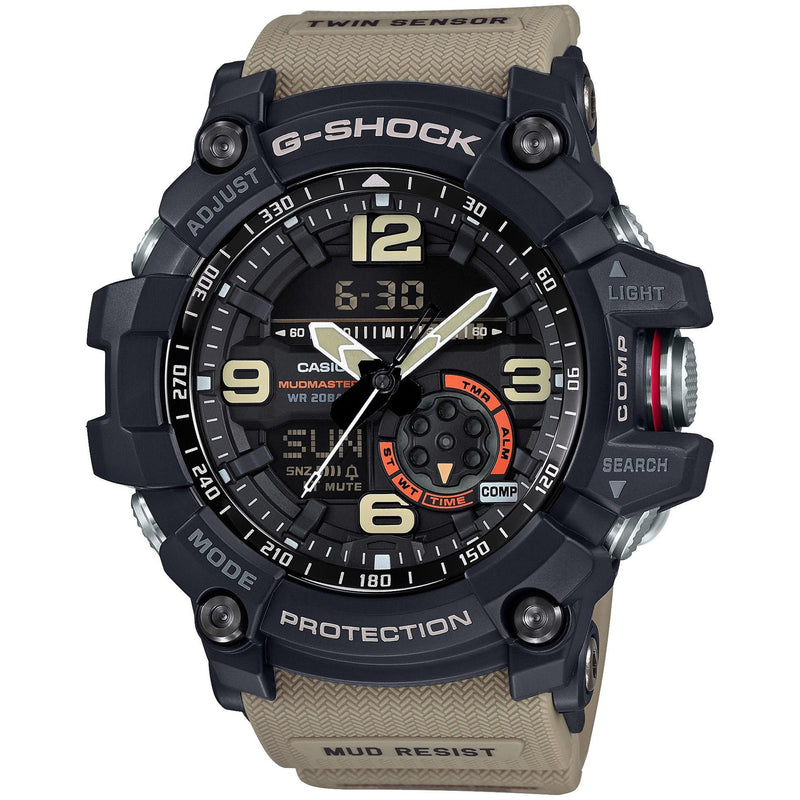 Casio G-Shock Mudmaster Master of G Tan Watch GG1000-1A5