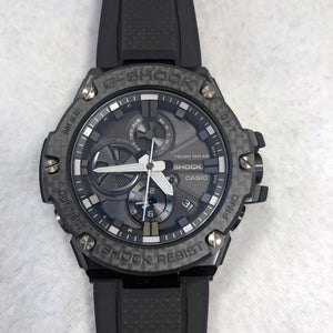 Casio G-Shock G-Steel Carbon Bezel Bluetooth Compatible Watch GSTB100X-1A