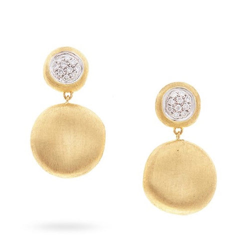 Marco Bicego Jaipur Drop Diamond Earrings OB1568
