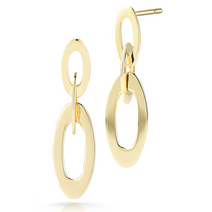 Roberto Coin Chic & Shine Mini Earrings 18K Yellow Gold