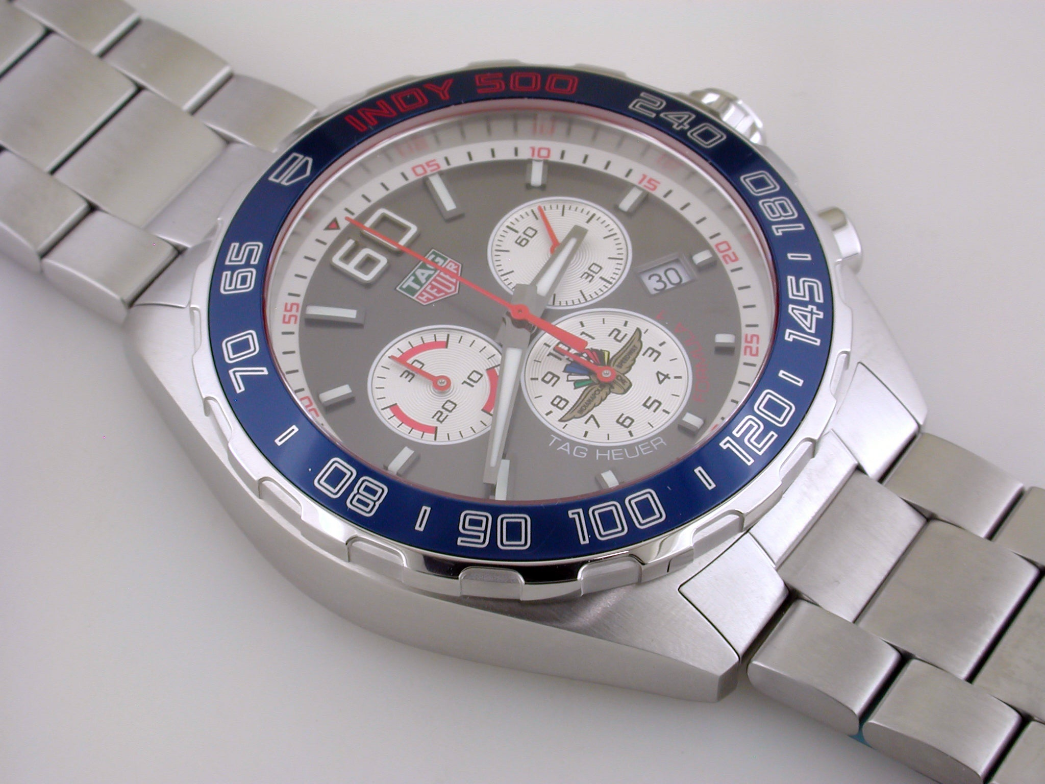 TAG HEUER Formula 1 Indy 500 2018 Chronograph 43mm Limited Edition Watch CAZ101L.BA0842