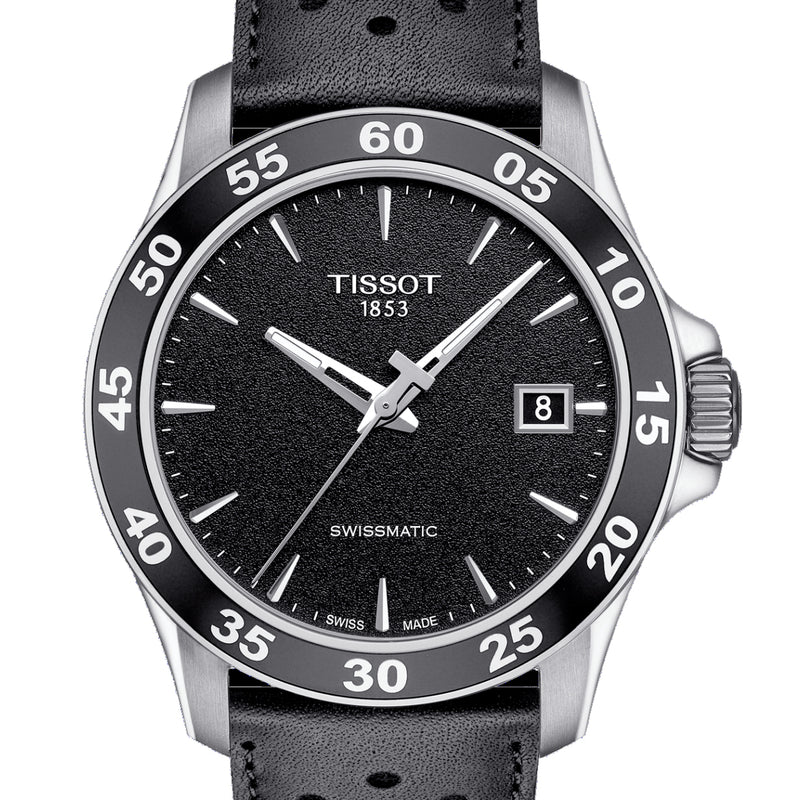 TISSOT V8 SWISSMATIC 42.5mm Black Watch T1064071605100