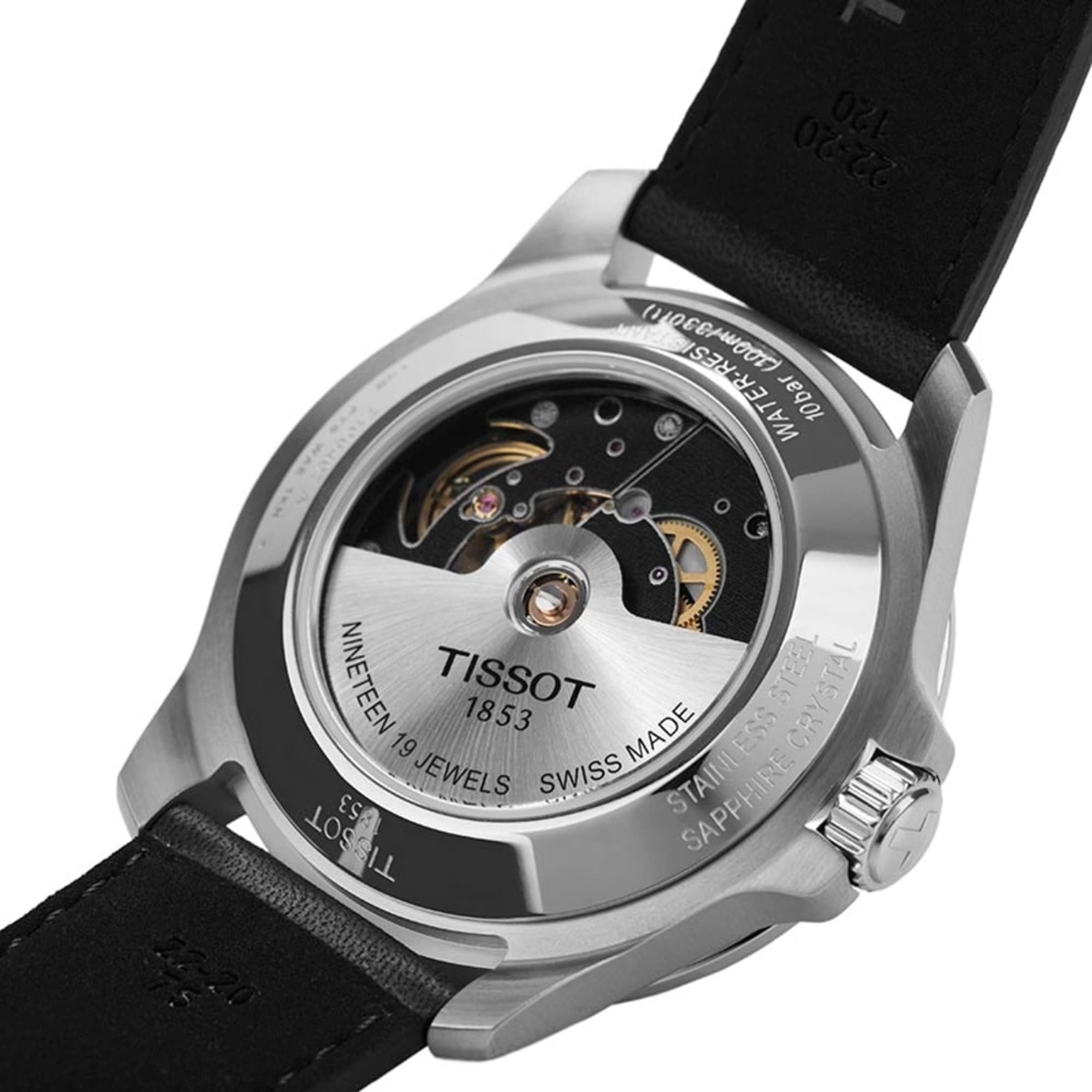 Tissot V8 Swissmatic 42 5mm Black Watch T1064071605100 Nagi Jewelers