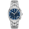 ag Heuer 41MM Mens Calibre 17 Link Automatic Chronograph Blue Dial Watch CBC2112.BA0603
