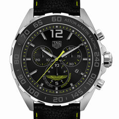 TAG Heuer Formula 1 Aston Martin Racing Special Edition Watch 43 mm CAZ101P.FC8245