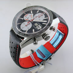 TAG Heuer Carrera Black & Red Chronograph 41mm Watch CV201AP.FC6429