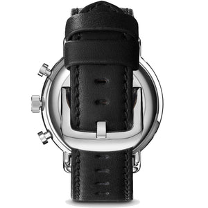 Shinola 45MM Canfield Sport Black Matte Dial Leather Watch S0120089889