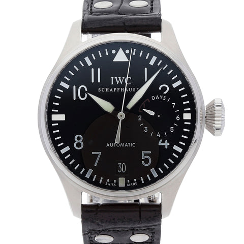 Certified Pre-Owned IWC Big Pilot Black Dial Watch IW500401 Complete Boxes