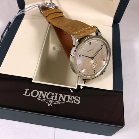 Longines Heritage 1945 Watch 40mm Steel Brown L2.813.4.66.2