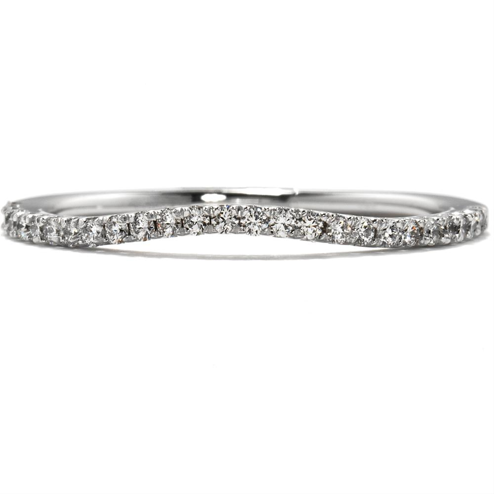 Hearts on Fire Felicity Diamond Wedding Band .15ctw