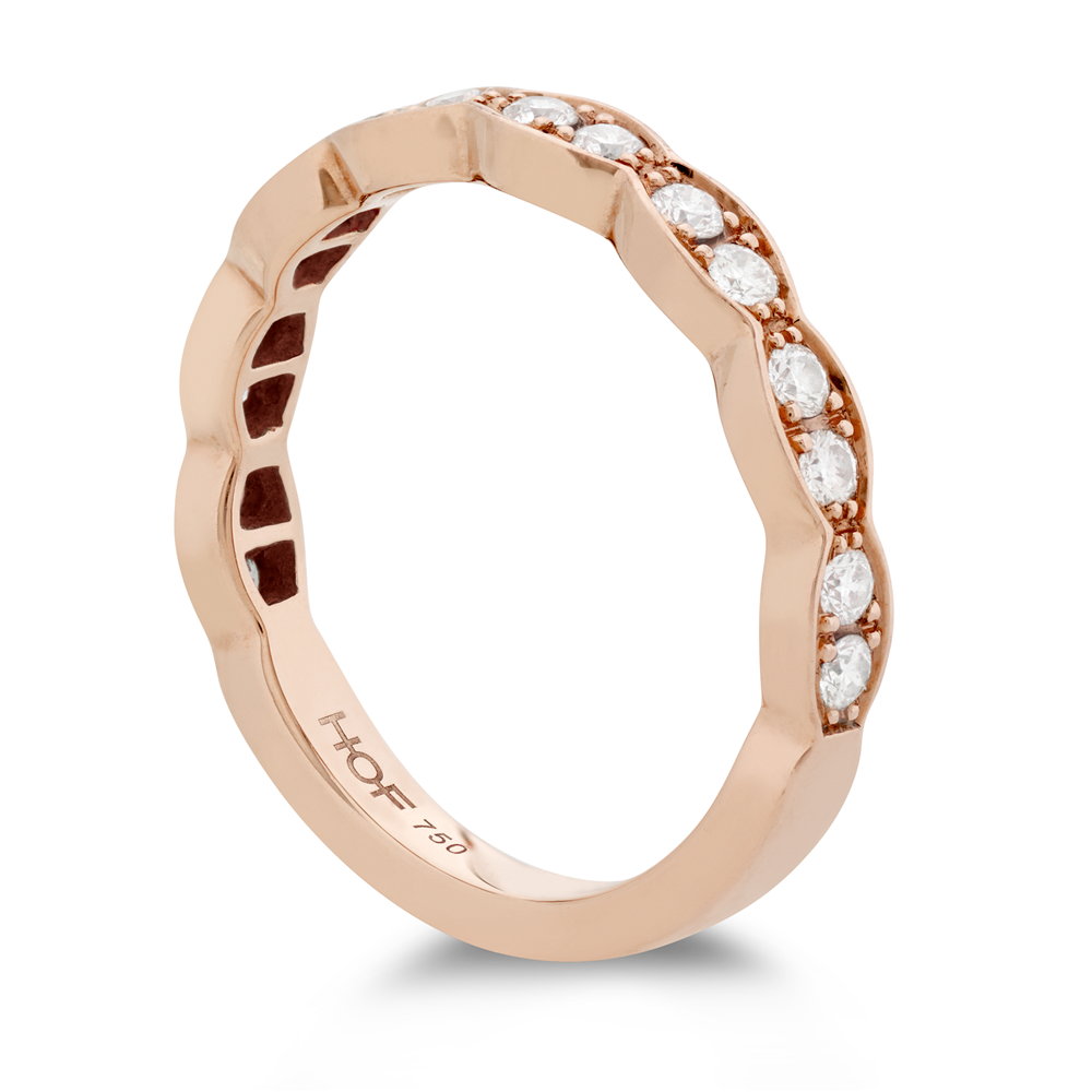 Hearts on Fire Lorelei Floral Diamond Band Ring in 18K Rose Gold