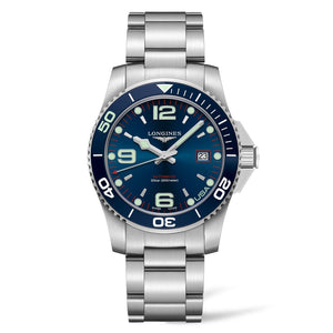 Longines USA Exclusive HydroConquest 41mm Blue Steel w/ NATO strap L37424986