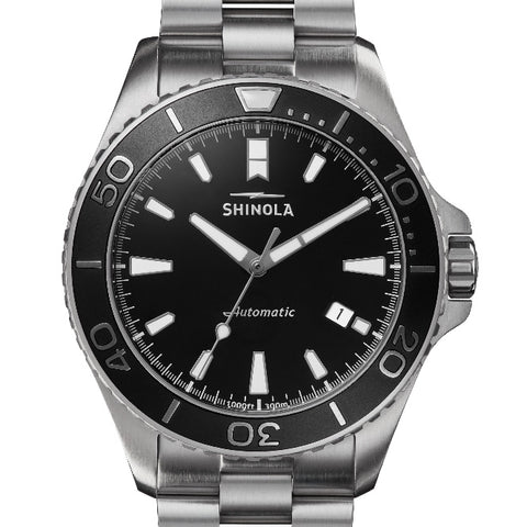 Shinola Automatic 43MM Lake Superior Monster Watch S0120097178