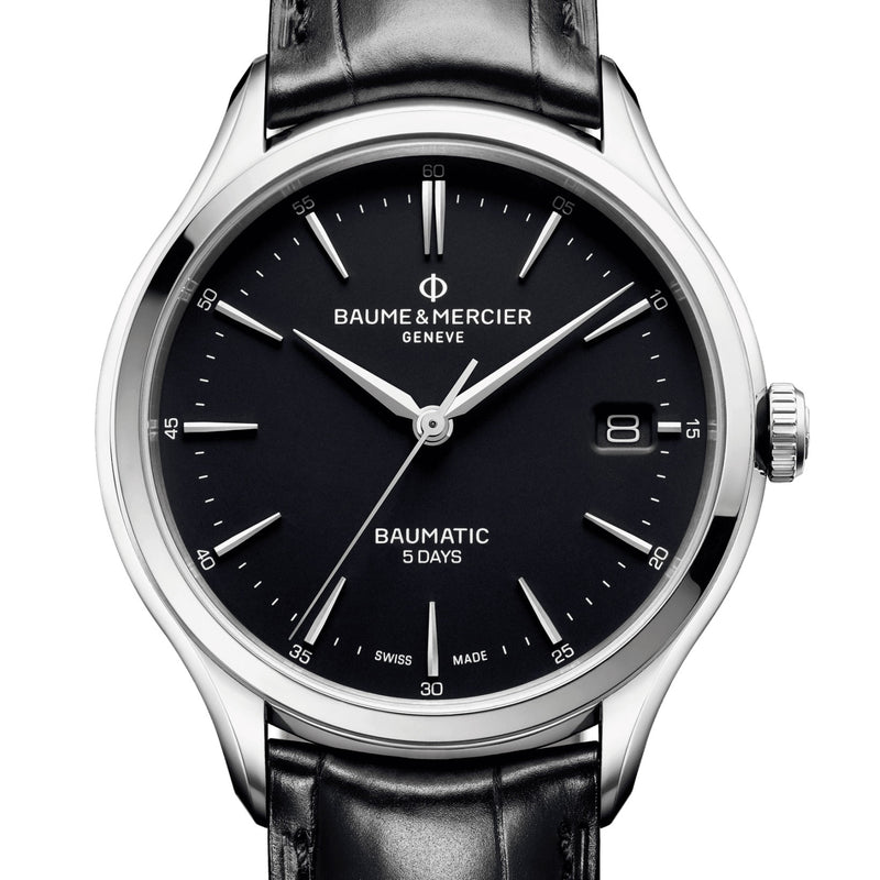 Baume & Mercier 5 Day Baumatic 40mm Automatic Black Watch M0A10399