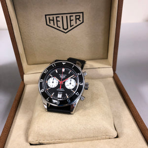 TAG Heuer Heritage 1972 Special Re-Edition Autavia Black Watch CBE2118.FC8246 42mm