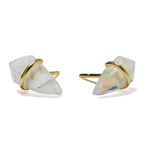 Page Sargisson Small Kite Handmade Labradorite Stud Earrings