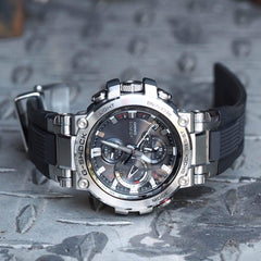 Casio G-Shock MT-G MTGB1000-1A Bluetooth Connected Stainless Steel Case Watch