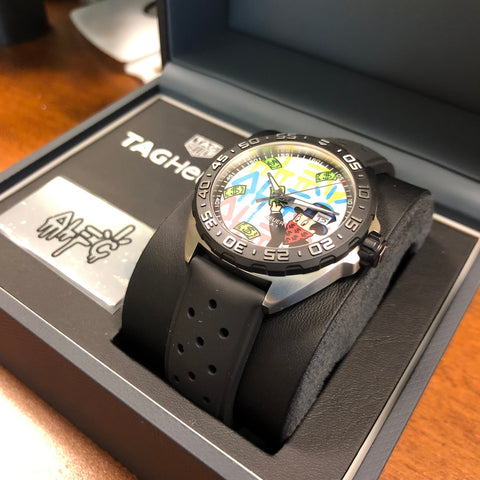 TAG Heuer Formula 1 Alec Monopoly Special Edition Watch WAZ1119.FT8023
