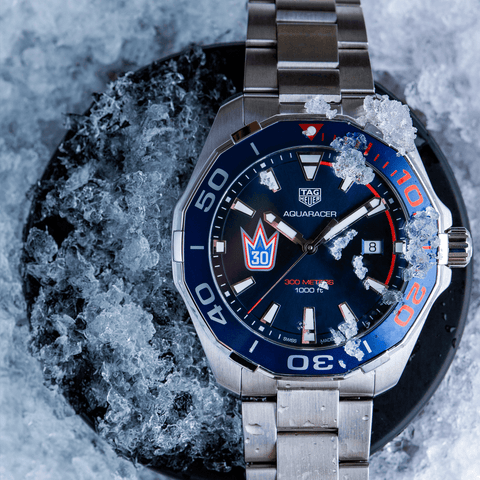 TAG Heuer Aquaracer 300m 43mm Henrik Lundqvist Special Edition Watch WAY101J.BA0746