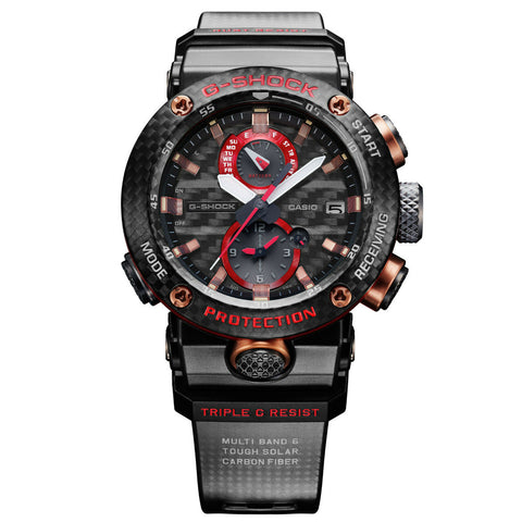 CASIO G-SHOCK GWR-B1000X-1ACR Gravity Master G-CARBON Basel Limited Red Rose