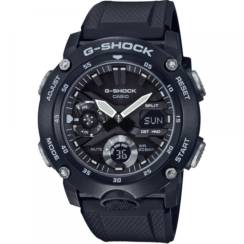 Casio G-Shock GA-2000S-1A Carbon Core Black Grey Watch