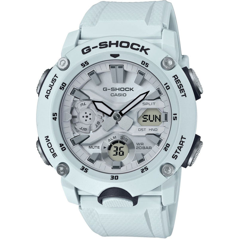 Casio G-Shock GA-2000S-7A Carbon Core White Grey Stormtrooper Watch