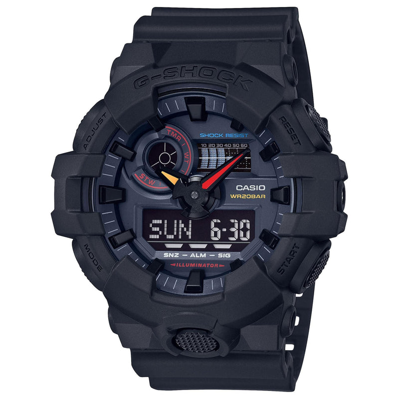 Casio G-Shock Neo Tokyo Color Analog-Digital Watch GA700BMC-1A