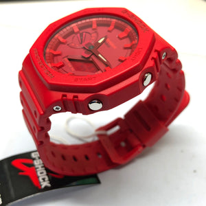 Casio G-Shock Red Carbon Core Guard 2100 Series GA-2100-4A