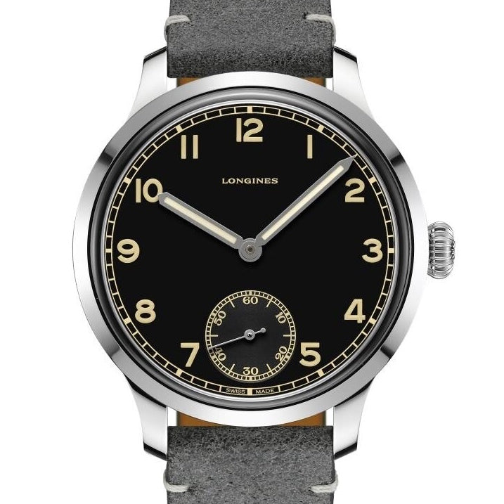 Longines 43MM Heritage Military 1938 Watch Extra Strap L28264532