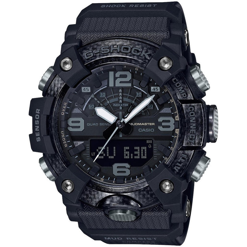 CASIO G-Shock GG-B100-1B Blackout Mudmaster Carbon Watch