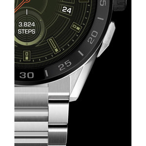 TAG Heuer Connected V3 45MM Black Ceramic Bezel Watch SBG8A10.BA0646