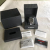 CASIO G-Shock Full Metal Square GMW-B5000CS-1 Laser Etched Grid Solar Watch boxes