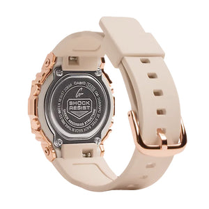 Casio G-Shock GMS Rose Gold Stainless Steel Womens Watch GMS5600PG-4