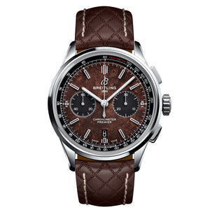 Pre-Order Breitling Premier Bentley Centenary Chronograph 42 Steel Brown