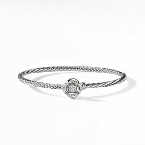 Infinity Bracelet with Diamonds