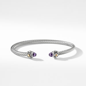 Renaissance Bracelet with Amethyst and 18K Gold