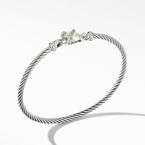 Chatelaine Bracelet with Diamonds, Hook Clasp