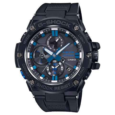 Casio G-Shock G-Steel Blue Note Records 80th Solar Watch GSTB100BNR-1A