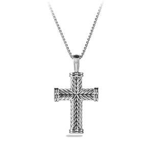 Men's Chevron Cross 41 x 30MM