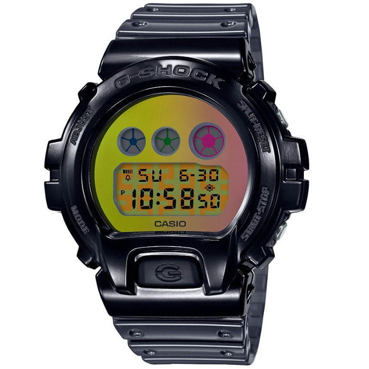 Casio G-Shock DW6900SP-1 Transparent Black Skeleton 25th Anniversary Watch