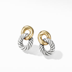 Belmont Drop Earrings with 18K Gold