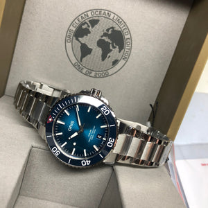 Oris Clean Ocean Aquis Limited Edition Watch 39.5